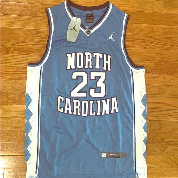 new arrival dce4a 602f9 Michael Jordan 23 UNC Carolina Jersey Boutique